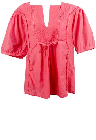 Blusa Shoulder Amarração Rosa
