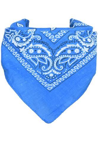 Lenço  Bandana Azul