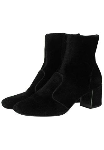 Bota Spot Shoes Veludo Preta