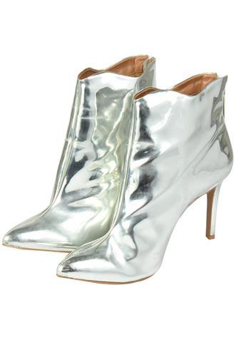 Bota Schutz Metalizada Prata
