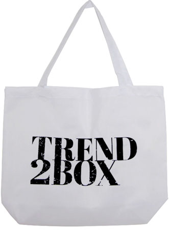 Ecobag Trend2Box Logo Branca