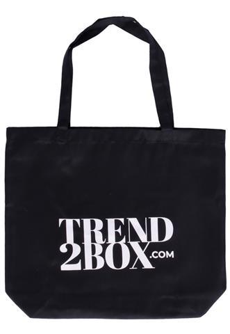 Ecobag Trend2Box Logo Preta