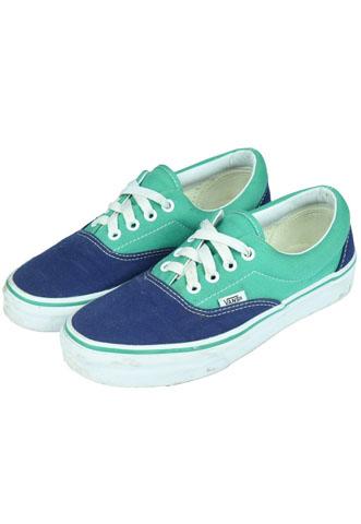 Tênis Vans Colorido Verde/Azul