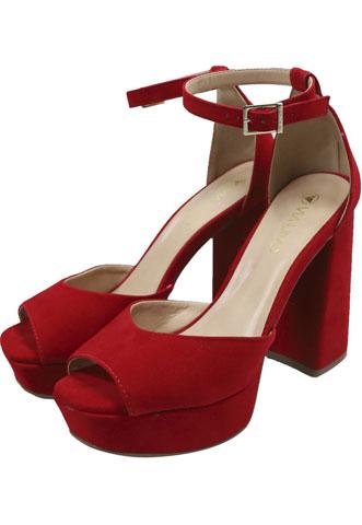 Sandália Via Uno Scarlet Vermelha