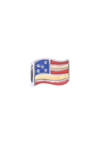 Berloque Vivara Bandeira EUA Prata