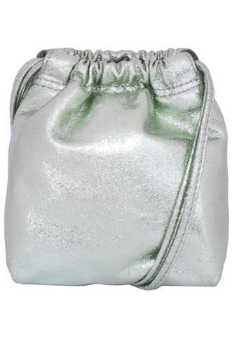 Bolsa Zara Metalizada Verde