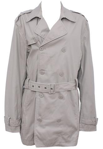 Trench Coat Zara Botões Bege