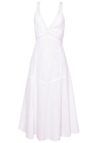 Vestido Zara Linho Branco