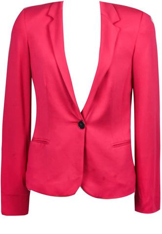 Blazer Zara Neon Rosa