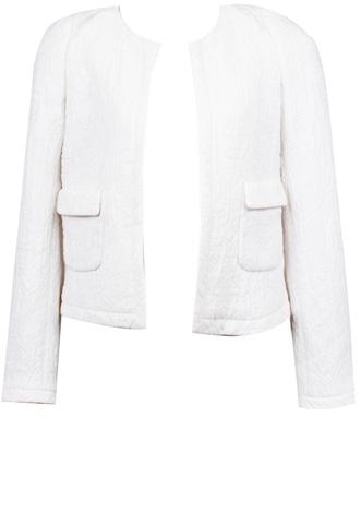 Blazer Zara Texturizado Branco