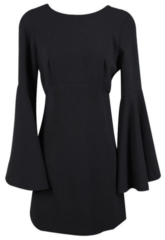 Vestido Zara Liso Preto
